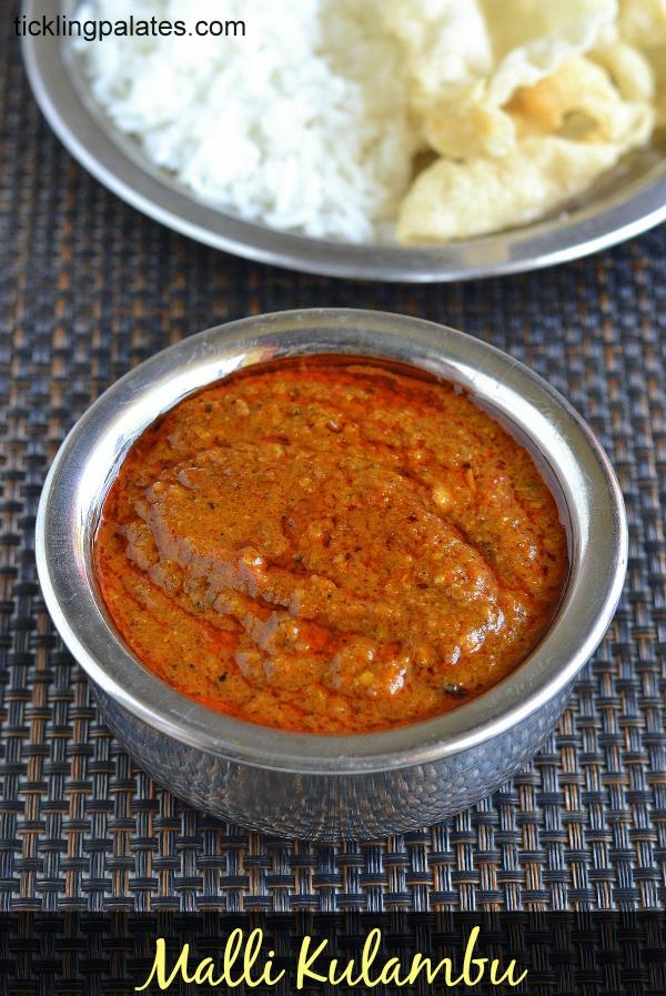 Malli Kuzhambu Recipe