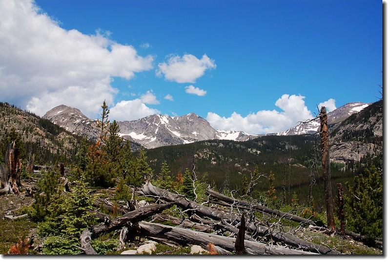Mt. Alice (R) & Tanima Peak (L)