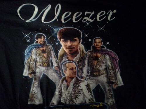 Weezer t-shirt, front
