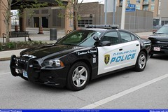 Cleveland Clinic Police Dodge Charger