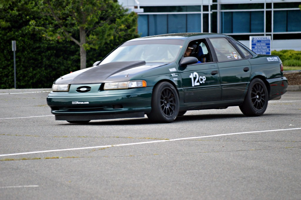Autocross Prepared 1992 Taurus Sho Taurus Car Club Of