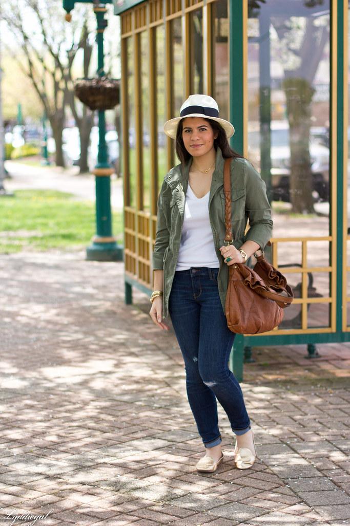 utility jacket, jeans, panama hat.jpg