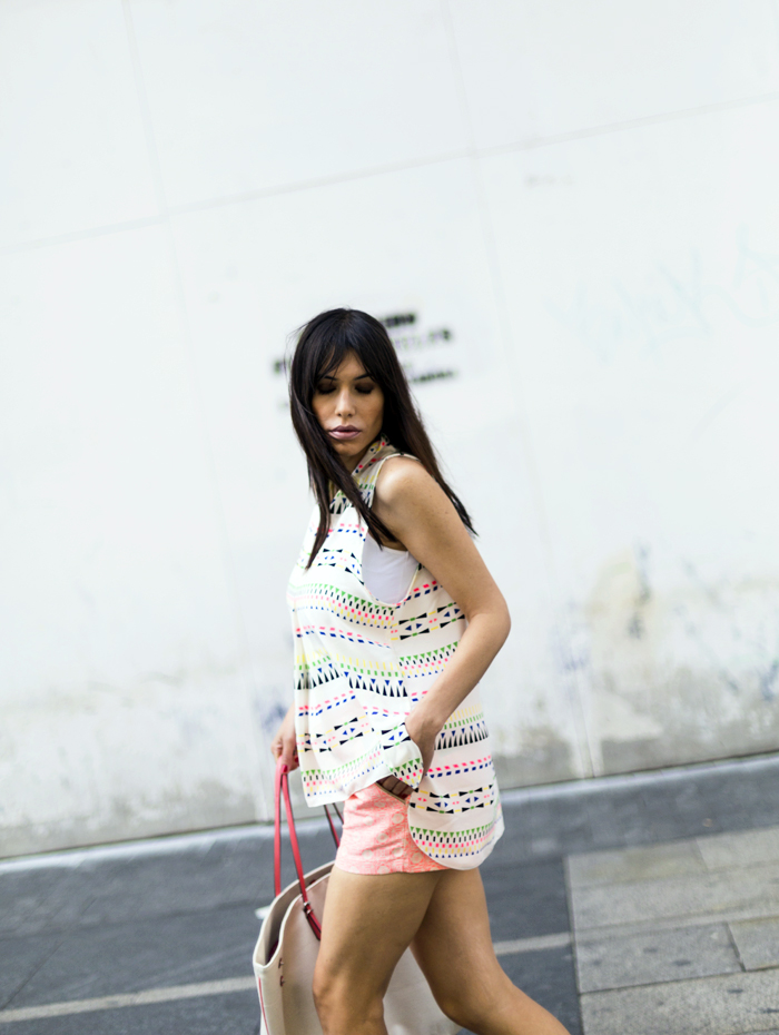street style barbara crespo colorful beautyque fashion blogger outfit blog de moda