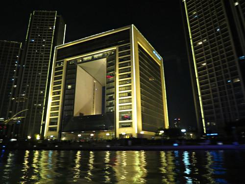Evening river cruise in Tianjin