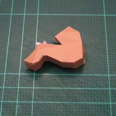 วิธีทำโมเดลกระดาษคุกกี้รสคุกกี้แอนด์ครีม  (Cookie Run Cream Cookie Papercraft Model) 013