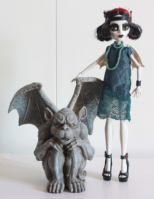 Jeanette, gargoyle from the 1920s