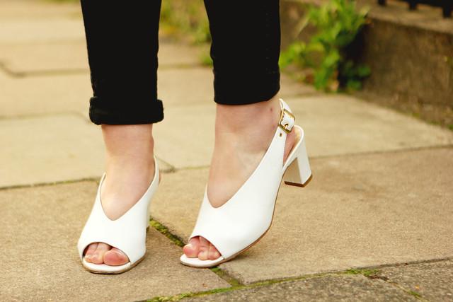 Hobbs White Shoes