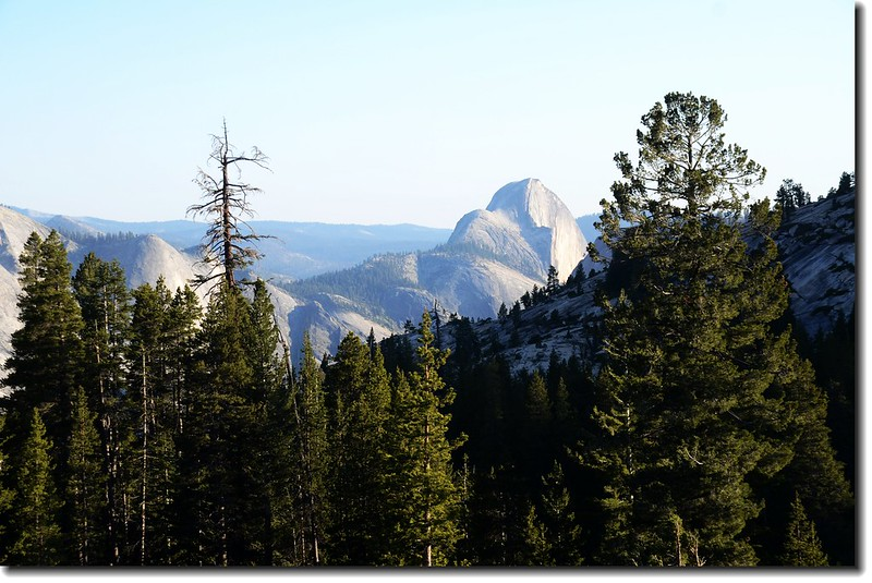 Half Dome backside from Olmsted Point 3