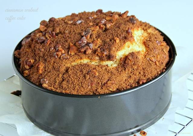 Cinnamon Walnut Coffee Cake 2