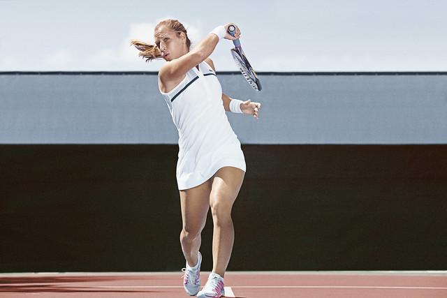 002 LACOSTE Dominika Cibulkova Tenue Roland Garros 2014 © CBerlet