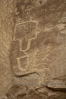 Petroglyph showing a T-Shaped Door