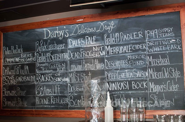 VCBW Rare Brews/Darby's Draft board