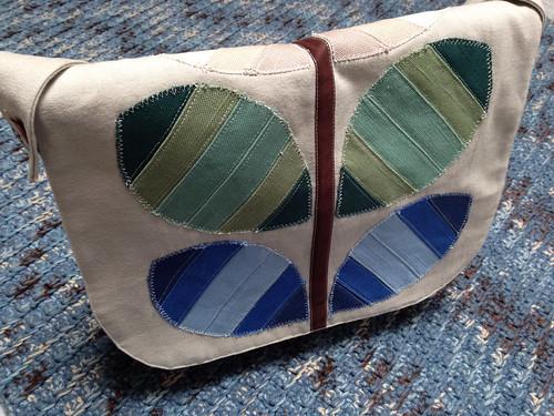 Zakka Style Stem Messenger Bag