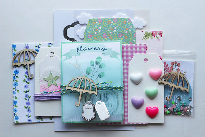 April showers scrapbook kit (12)