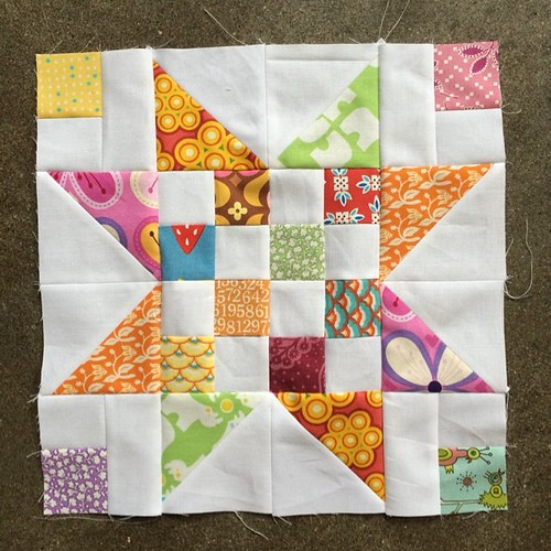 Scrap Jar blocks for Lindsay! #dogoodstitches #harmonydogoodstitches