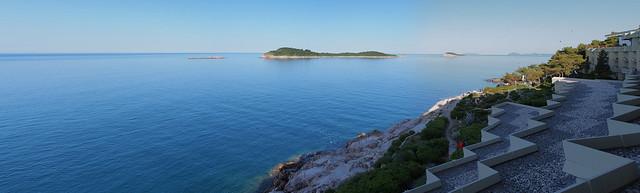 Hotel Croatia的窗景