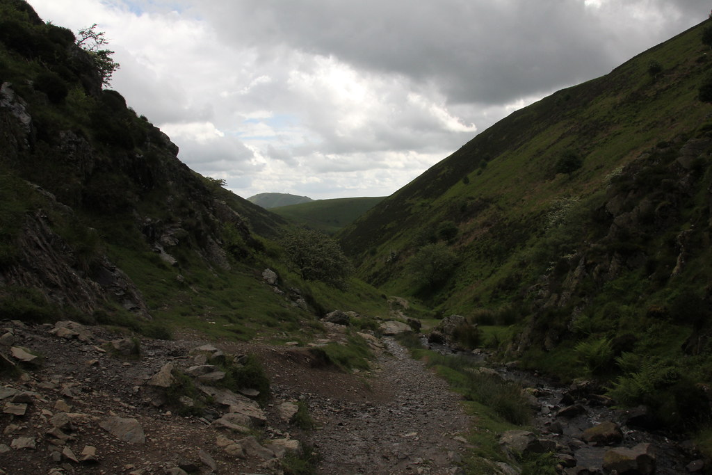 Shropshire, Church Stretton, Cardingmill Valley, Long Mynd, Ashes Hollow, Little Stretton, Ragleth Hill, Hazler Hill, Hope Bowdler Hill, Caer Caradoc Hill