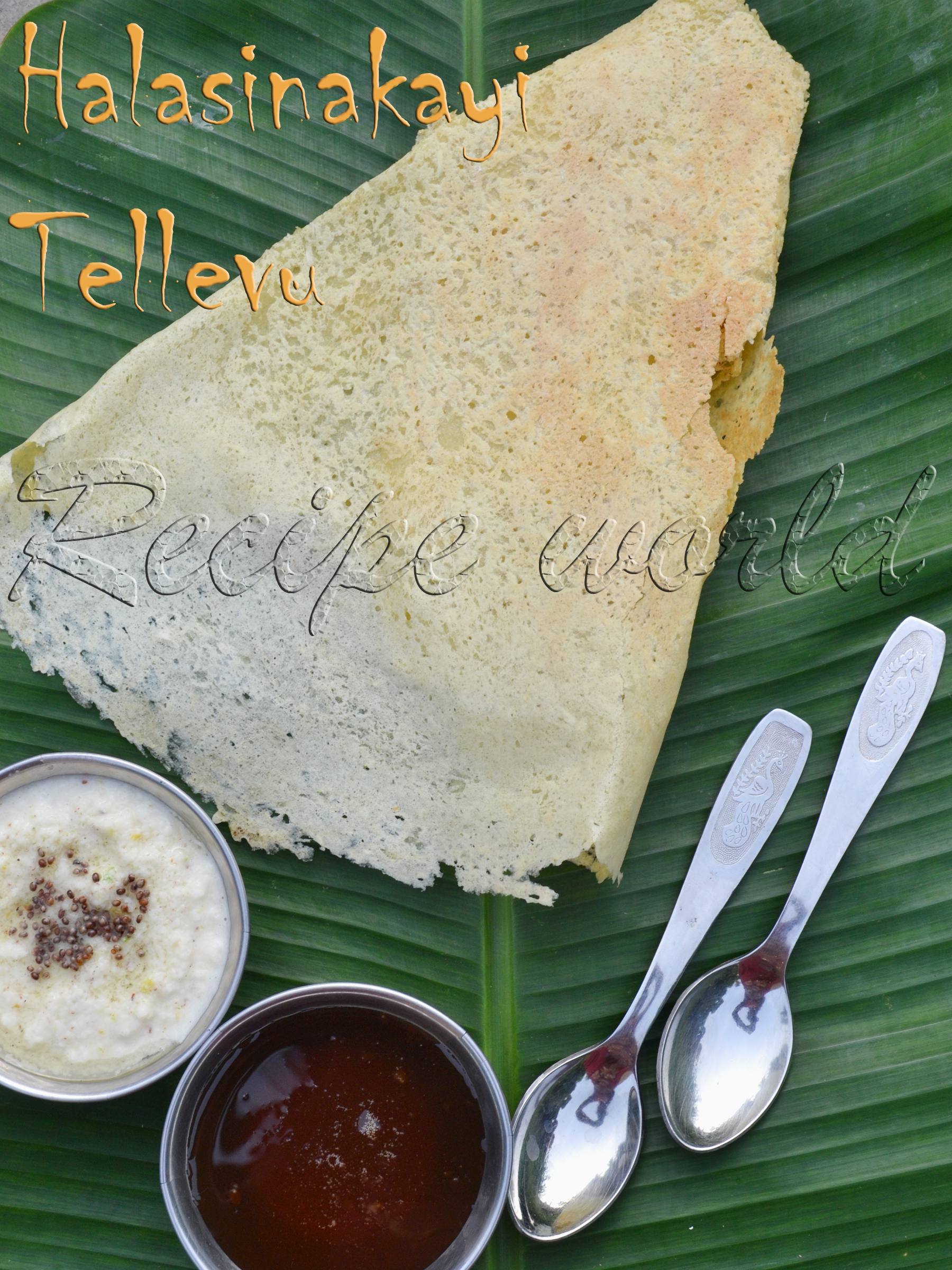 raw jack fruit dosa