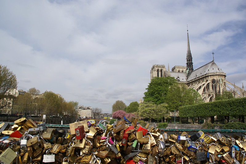 Notre Dame and a Whole Lotta Love Paris