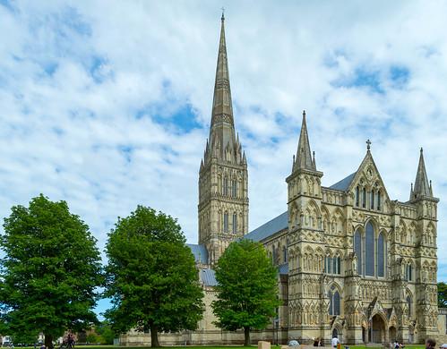Salisbury Cathedral, Wiltshire, Exterior