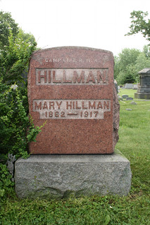 6-12-2014 Mary Hillman grave marker