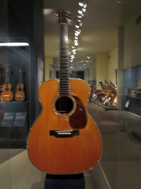 Photo:126 Martin Guitar Met Museum of Art New York NY 0357 By bobistraveling