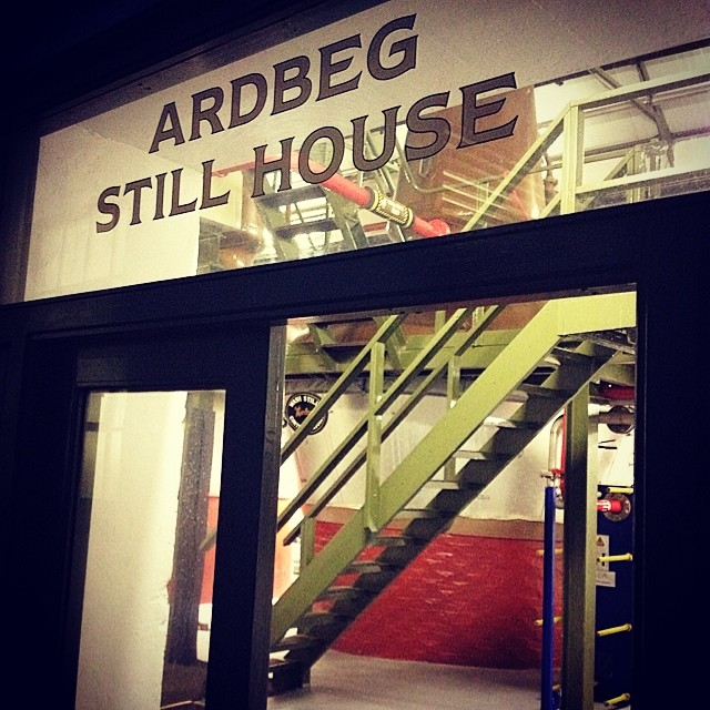 Ardbeg still house #ardbeg #feisile #islay
