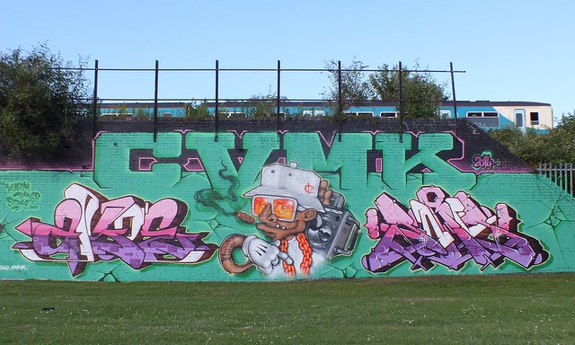 CMVK collab at Sevenoaks park, Cardiff
