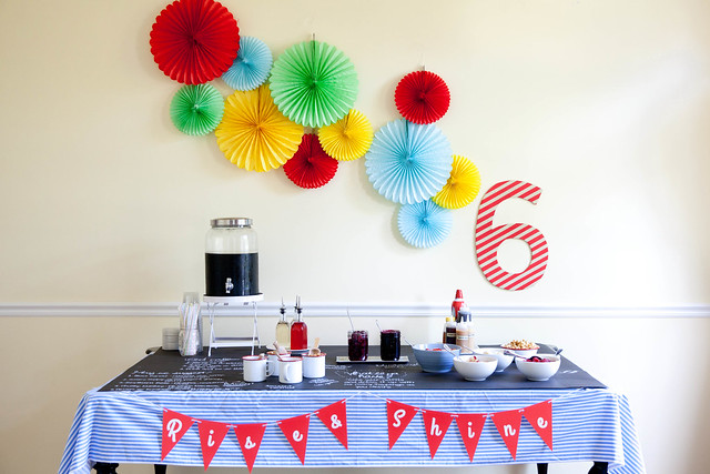 Rise and Shine: Andrew's PJ & Waffle Birthday Party