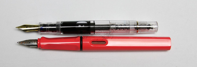 Review: Pelikan Tradition M200 Clear Fountain Pen - Fine @PenChalet @Pelikan_Company @Pelikan_De