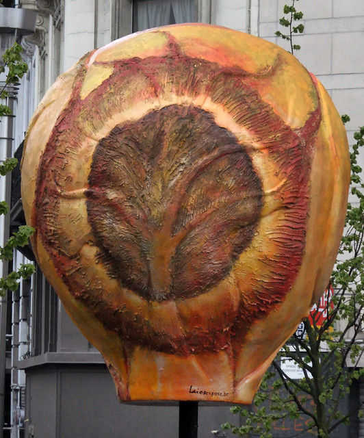 A Brussels Sprout Sculpture