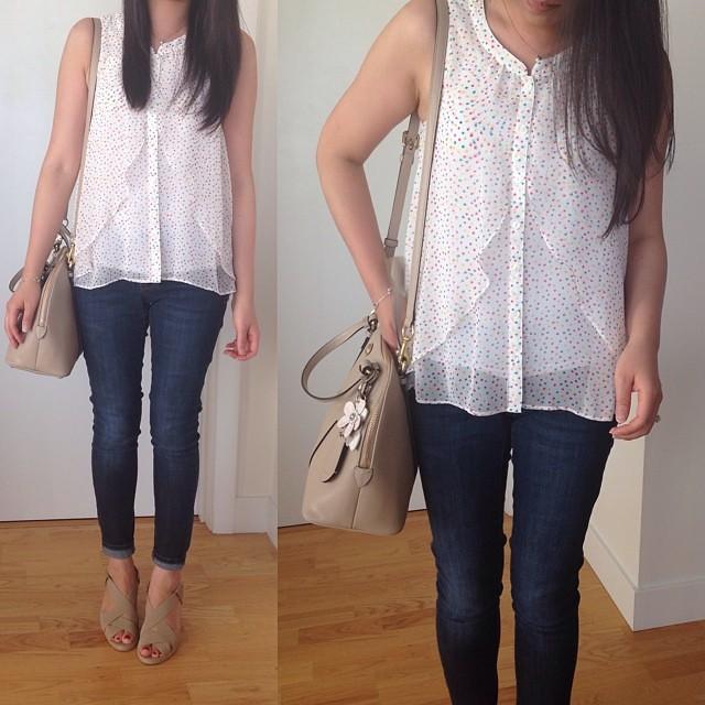 #TGIF! Wearing an old #favorite top from @forever21. // www.liketk.it/O7S @liketkit #liketkit