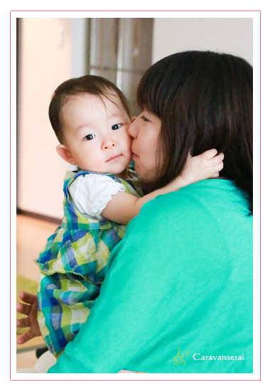 家族写真 ファミリーフォト 1才記念 ロケーションフォト 出張撮影 自宅 愛知県瀬戸市