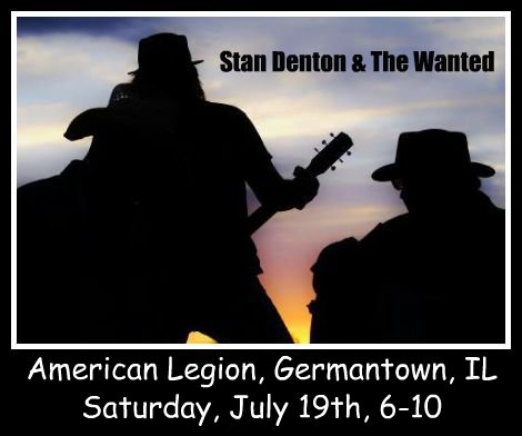 Stan Denton & The Wanted 7-19-14
