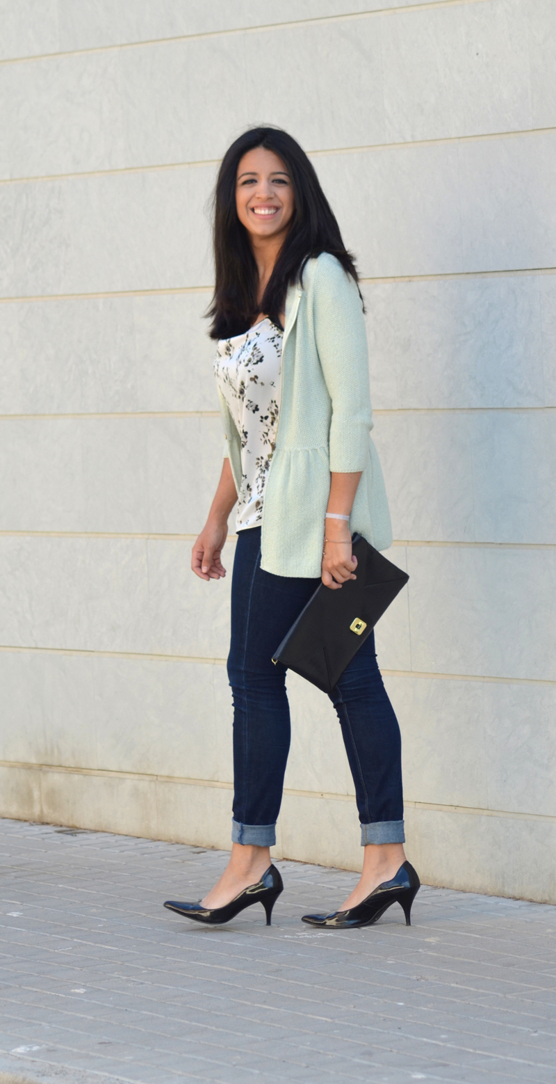 florenciablog working girl mint inspiration fashion blogger spain clutch zara look  (9)