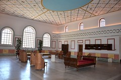 hall, building, property, architecture, ceiling, interior design, waiting room,