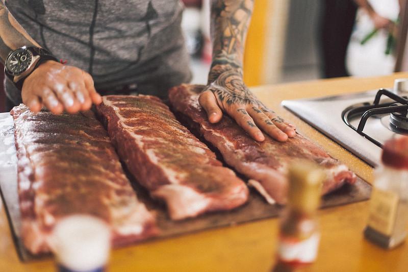 Costelinha no Barbecue