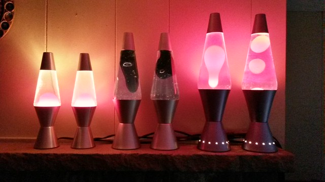 Lava lamps are go
