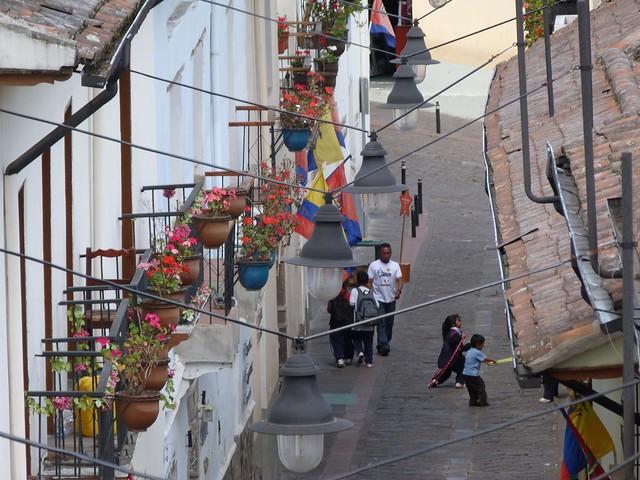 Calle de La Ronda (Quito, Ecuador)