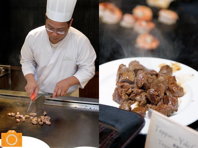 Yanagi teppanyaki grill