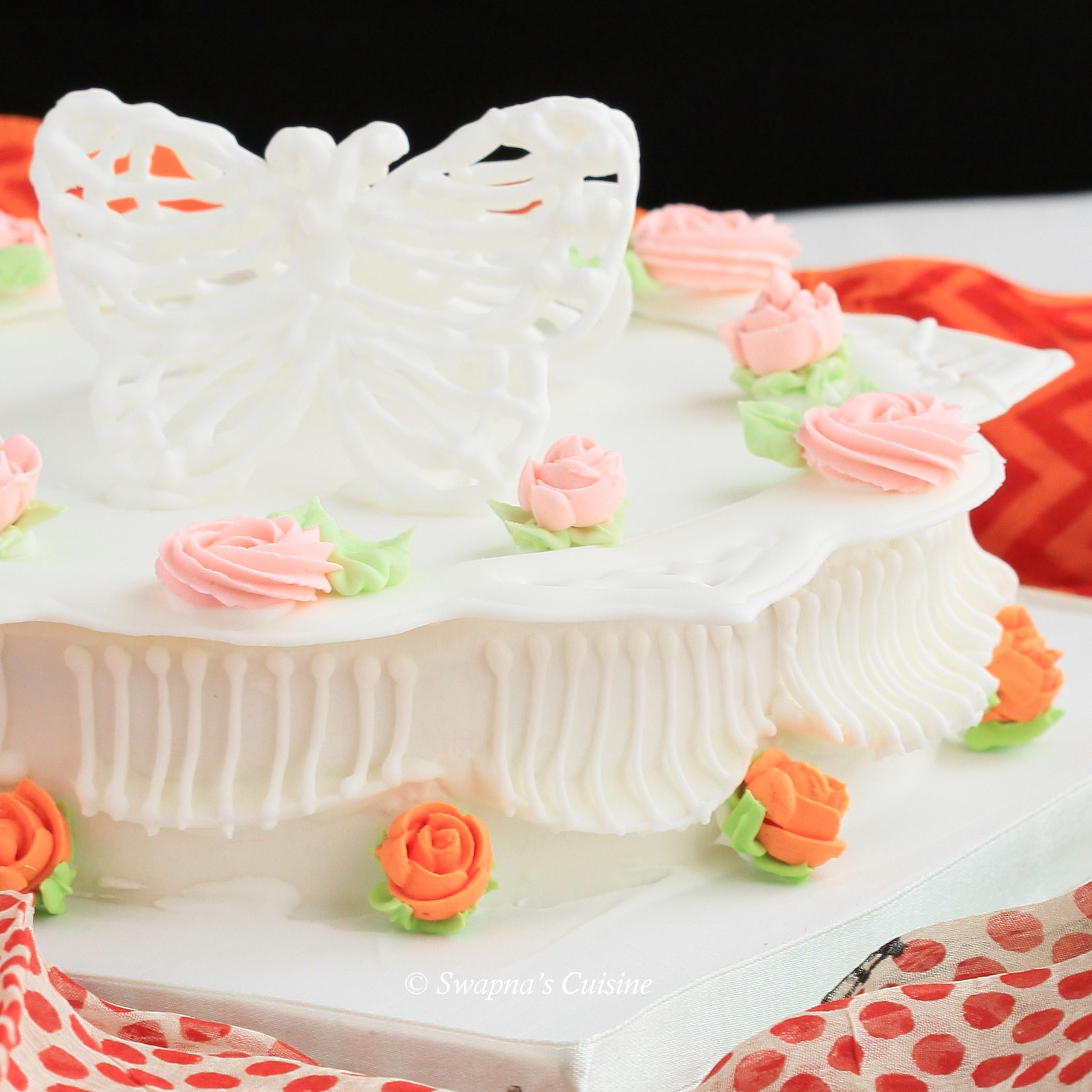 Royal Icing Rose Buds