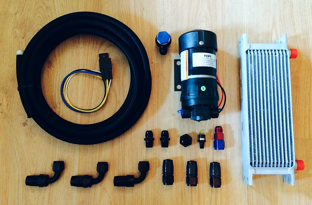 Differential Oil Cooler : R gearbox and diff oil cooler kits gt register