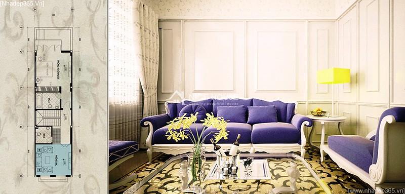 Thiết kế nội thất nhà anh Lý - Hà Đông_12