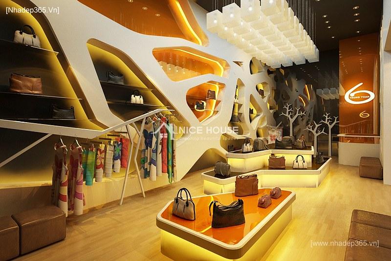 Thiết kế nội thất Shop quần áo KeangNam_1
