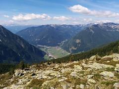 Blick ins Tal, Aufstieg Großer Moosstock