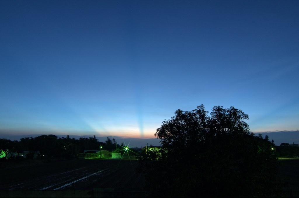 黃昏&夜幕
