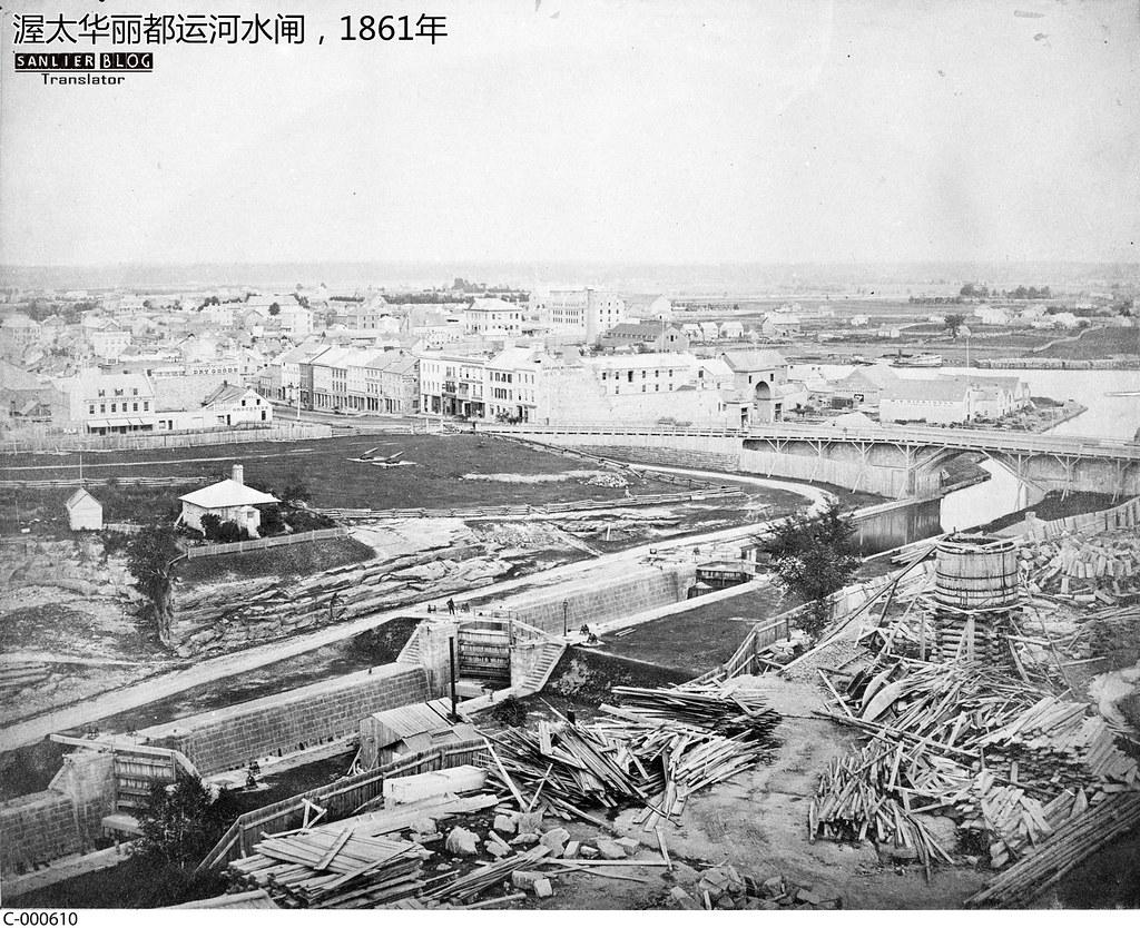 1860年美洲大洋洲城市1
