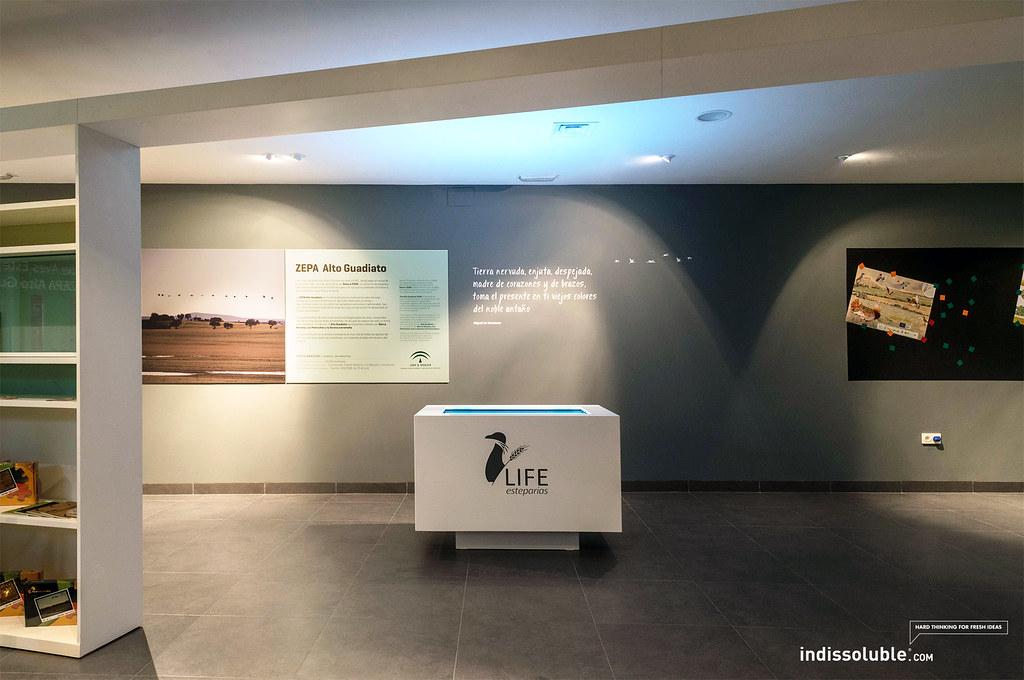 Stands multimedia arquitectura ef mera for Oficina caixanova madrid