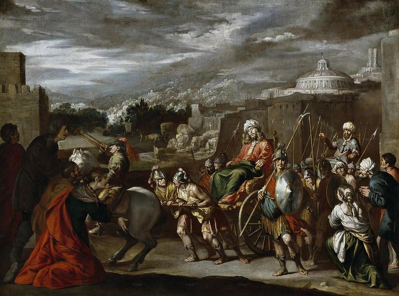 Antonio del Castillo Saavedra - Triunfo de José en Egipto (c.1655)