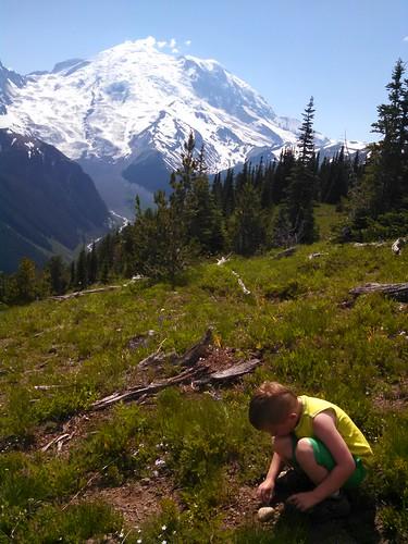 Burying his Mama's Ashes on Mt. Rainier